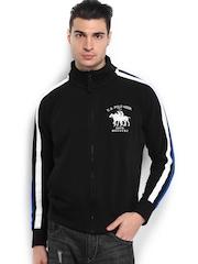 U.S. Polo Assn. Men Black Sweatshirt