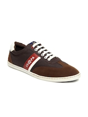 U.S. Polo Assn. Men Brown Casual Shoes