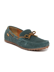 U.S. Polo Assn. Men Green Suede Loafers