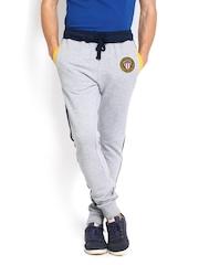 U.S. Polo Assn. Men Grey Melange Track Pants