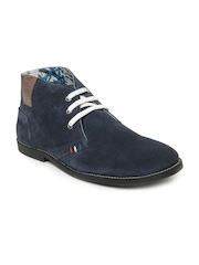 U.S. Polo Assn. Men Navy Blue Fort Worth Casual Shoes