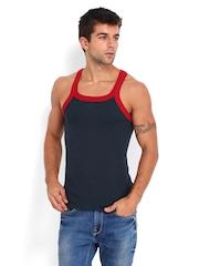 U.S. Polo Assn. Men Navy Innerwear Vest I027-195-P1