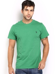 U.S. Polo Assn. Men Green T-shirt
