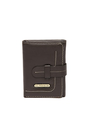 U.S. Polo Assn. Men Brown Leather Wallet