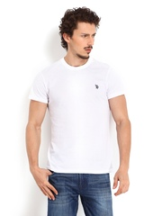 U.S. Polo Assn. Men White T-shirt