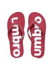 Umbro Men Red Flip-Flops