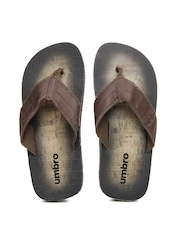 Umbro Men Brown Flip Flops