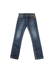 United Colors of Benetton Boys Blue Skinny Fit Jeans