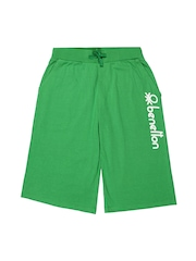 United Colors of Benetton Boys Green Shorts