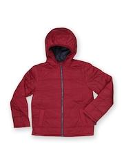 United Colors of Benetton Boys Red Basic Bomber Jacket