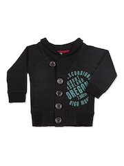 United Colors of Benetton Boys Black Sweatshirt