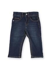 United Colors of Benetton Boys Blue Denim Trousers
