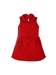 United Colors of Benetton Girls Red Fit & Flare Dress