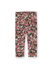United Colors of Benetton Girls Multicoloured Floral Printed Leggings