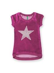 United Colors of Benetton Girls Purple Top