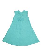 Aomi Sea Green A-Line Dress