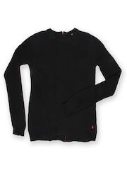 United Colors of Benetton Girls Black Sweater