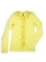 United Colors of Benetton Girls Yellow Top