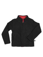 United Colors of Benetton Kids Unisex Black Jacket