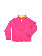 United Colors of Benetton Kids Unisex Pink Jacket