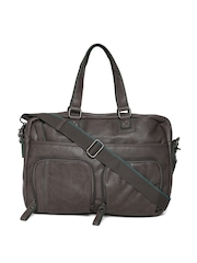 United Colors Of Benetton Taupe Laptop Bag