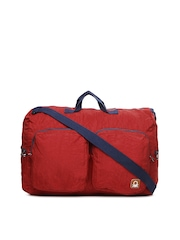 United Colors of Benetton Men Red  Duffle Bag