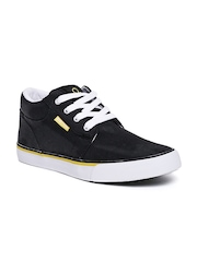 United Colors of Benetton Men Black Casual Shoes
