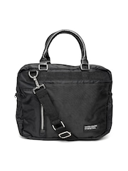 United Colors of Benetton Men Black Messenger Bag
