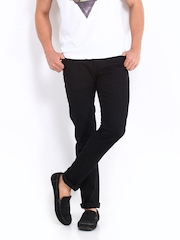 United Colors of Benetton Men Black Skinny Fit Jeans