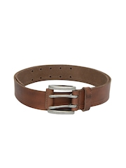 United Colors of Benetton Men Brown Leather Belt