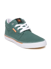 United Colors of Benetton Men Green Casual Shoes