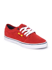 United Colors of Benetton Men Red Casual Shoes