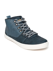 United Colors of Benetton Men Navy Casual Shoes