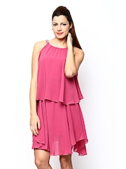 United Colors of Benetton Pink Tailored Dress
