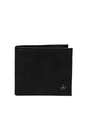 United Colors of Benetton Men Black Leather Wallet