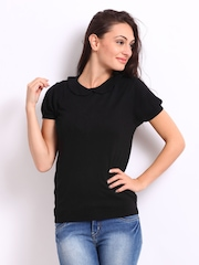 United Colors of Benetton Women Black Top
