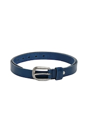 United Colors of Benetton Women Blue Leather Belt