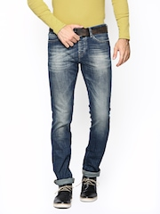 United Colors of Benetton Men Blue Skinny Fit Jeans