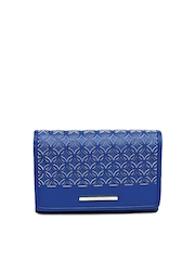 United Colors of Benetton Women Blue Wallet