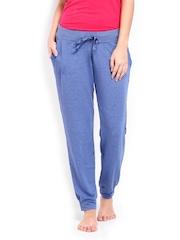 Undercolours Of Benetton Women Blue Lounge Pants 14P3TRCK301DI United Colors Of Benetton