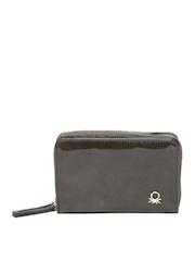 United Colors of Benetton Women Mushroom Brown Wallet