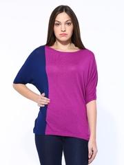 United Colors of Benetton Women Purple Top