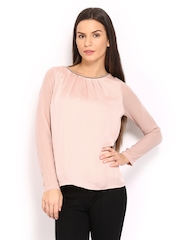 United Colors of Benetton Women Dusky Pink Top