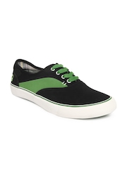 United Colours Of Benetton Men Black Casual Shoes
