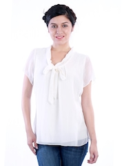 Uptown Galeria Women White Top