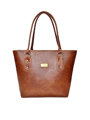 Utsukushii Brown Handbag
