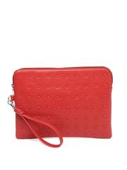 Van Heusen Woman Red Oversized Clutch