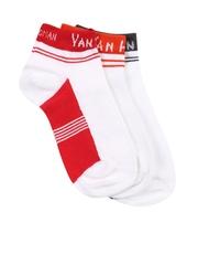 Van Heusen Women Pack of 3 White Socks