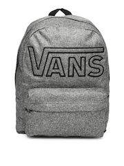 Vans Men Grey Melange Backpack