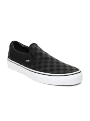 Vans Men Black Classic Slip-On Casual Shoes
